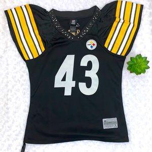 Steelers NFL Team Apparel Reebok Jersey Size M
